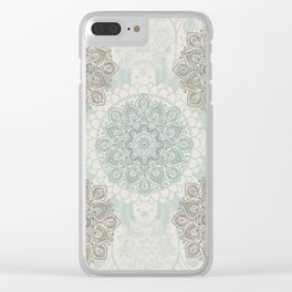 Peaceful Clear iPhone Case