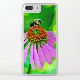 Bright Summer Days Clear iPhone Case