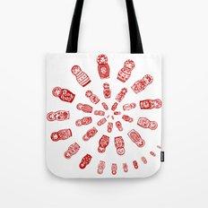 Matryoshkas'  Spiral Tote Bag