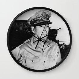 General MacArthur Wall Clock