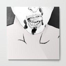Drip Metal Print