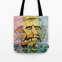 Adventure Begins Tote Bag