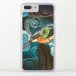 The King Fisher stake out Clear iPhone Case