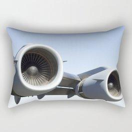 C17 C-17 Globemaster Military Cargo Airplane/Aircraft USAF Rectangular Pillow