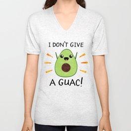 I don't give a guac! Unisex V-Neck
