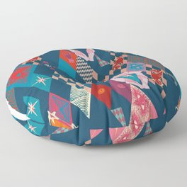 Circus_vintage Floor Pillow