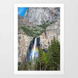 Bridalveil Falls Art Print