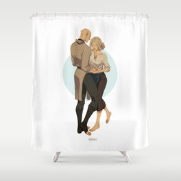 Ballroom dance Shower Curtain