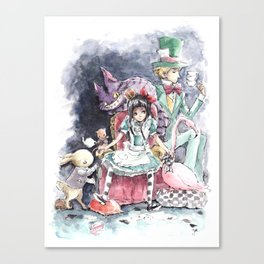 Queen Alice Canvas Print