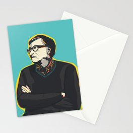 Bill Gates Pop Art Quote Portrait Stationery Cards