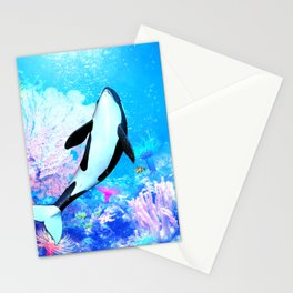 Orca 3 Stationery Cards
