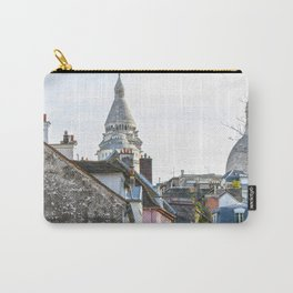 French street in Montmartre, Paris Carry-All Pouch
