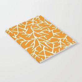 Branches - Orange Notebook