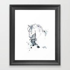 Horse Study I Framed Art Print
