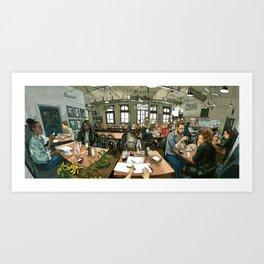 Brunswick Food Store Art Print