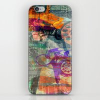 telephone iPhone & iPod Skins featuring Telephone by Arken25