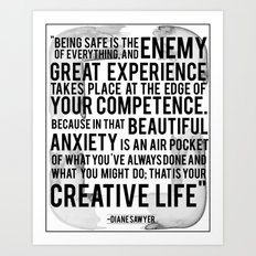 Your Creative Life Art Print