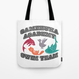 Samezuka Academy Swim Team Tote Bag