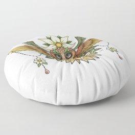 Sun Owl Floor Pillow