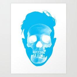 Hipster Head Art Print