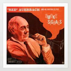 Smoke Signals Art Print