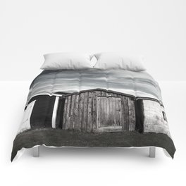 Fishermans home - small huts Comforters