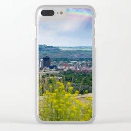 Billings 406 Clear iPhone Case