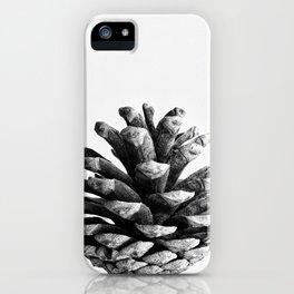 pinecone nature plants iPhone Case