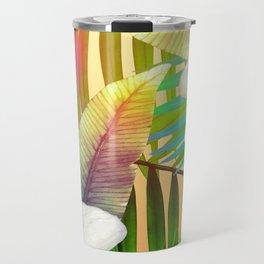 Island Flowers Travel Mug