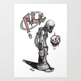 Fred Upplinger Art Print
