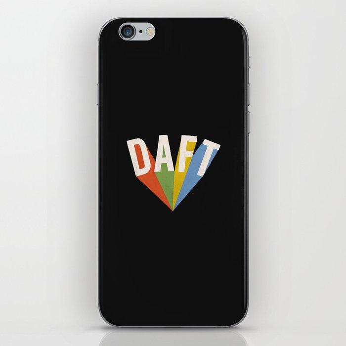 Letters : Daft II iPhone Skin