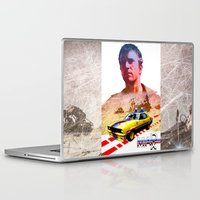 mad max Laptop & iPad Skins featuring Mad max poster by danimo