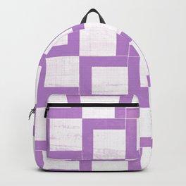 Lavender Geometry On Japanese Paper Backpack