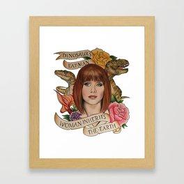Jurassic World Framed Art Print