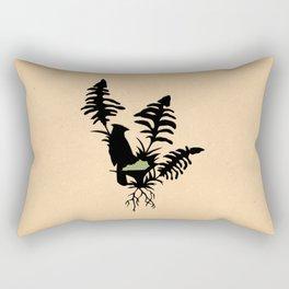Kentucky - State Papercut Print Rectangular Pillow