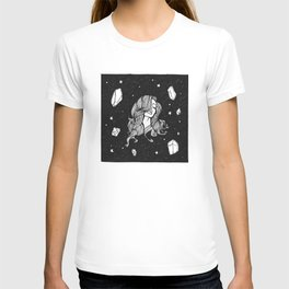 Dreamy Floaty Space Babe T-shirt