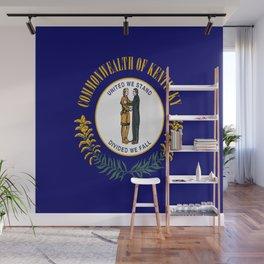 flag of kentucky-america,usa,midwest,Bluegrass,  Hemp State,Kentuckian,Louisville,lexington,richmond Wall Mural