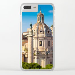 ROME 02 Clear iPhone Case