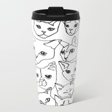 Cats! Metal Travel Mug
