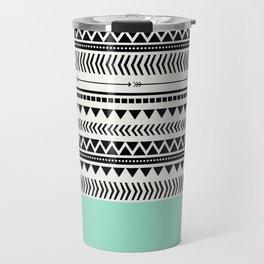 AZTEC AND MINT Travel Mug