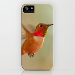 Floating Rufous iPhone Case