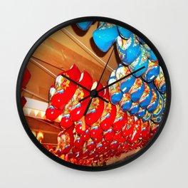 Danish Clogs Wall Clock