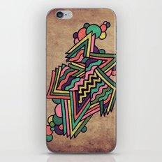 Neon Grit iPhone & iPod Skin
