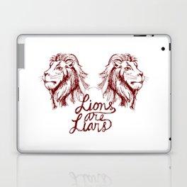 Lions Are Liars Laptop & iPad Skin