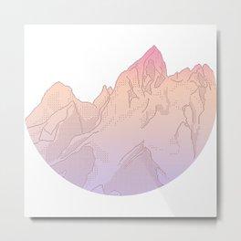 Soft Pastel Sunrise Metal Print