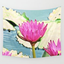 The Water Lily Wall Tapestry