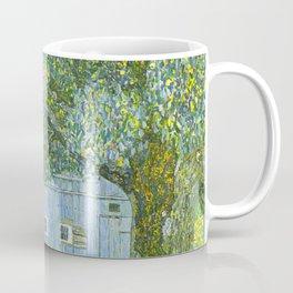 Klimt - Farmhouse in Upper Austria (new editing) Coffee Mug