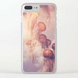 JELLY SKY Clear iPhone Case