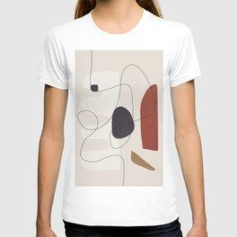 Abstract Minimal Shapes 27 T-shirt