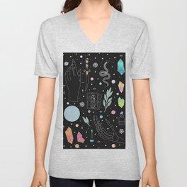 Crystal Witch Starter Kit - Illustration Unisex V-Neck